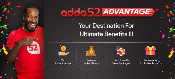 "New Loyalty Program ""Adda52 Advantage"" by Adda52 Poker Room"